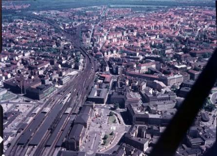 ARH NL Koberg 533, Ernst-August-Platz mit Hauptbahnhof, Hannover, ohne Datum