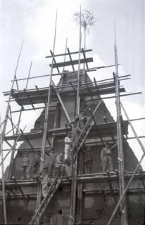 ARH NL Koberg 568, Sicherungsarbeiten am Turm der Marktkirche, Hannover, 1947