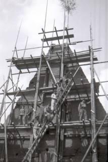 ARH NL Koberg 569, Sicherungsarbeiten am Turm der Marktkirche, Hannover, 1947