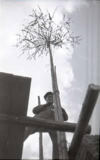 ARH NL Koberg 570, Sicherungsarbeiten am Turm der Marktkirche, Hannover, 1947