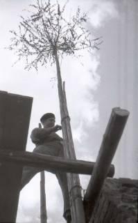 ARH NL Koberg 571, Sicherungsarbeiten am Turm der Marktkirche, Hannover, 1947