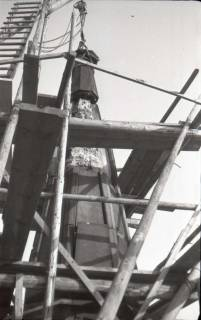 ARH NL Koberg 586, Sicherungsarbeiten am Turm der Marktkirche, Hannover, 1947