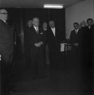 ARH BA 2400, Flughafen, Langenhagen - Besuch von MP Diederichs und Baustelle der neuen Startbahn, 1965