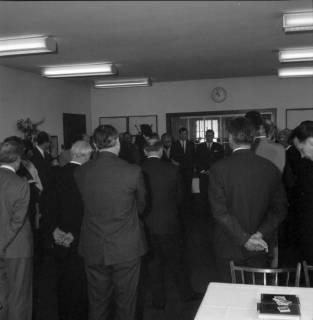 ARH BA 2401, Flughafen, Langenhagen - Besuch von MP Diederichs und Baustelle der neuen Startbahn, 1965