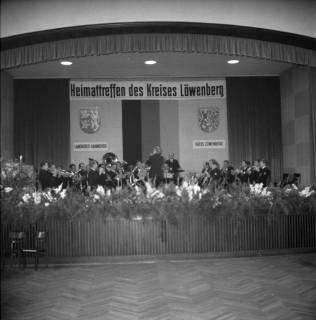 ARH BA 2449, Heimattreffen des Kreises Löwenberg im Wülfeler Biergarten, Hannover, 1966