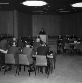 ARH BA 2508, Kreistagssitzung in der Geschwister-Scholl-Schule, Letter, 1966