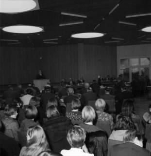 ARH BA 2509, Kreistagssitzung in der Geschwister-Scholl-Schule, Letter, 1966