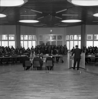 ARH BA 2511, Kreistagssitzung in der Geschwister-Scholl-Schule, Letter, 1966