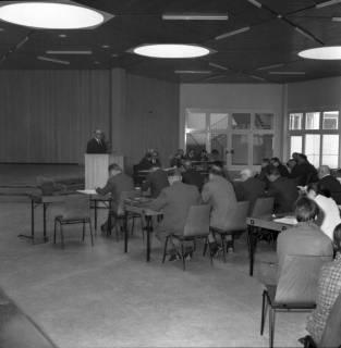 ARH BA 2514, Kreistagssitzung in der Geschwister-Scholl-Schule, Letter, 1966