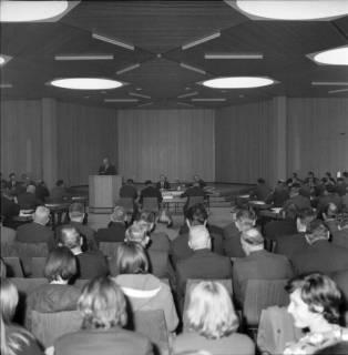 ARH BA 2516, Kreistagssitzung in der Geschwister-Scholl-Schule, Letter, 1966