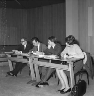 ARH BA 2518, Kreistagssitzung in der Geschwister-Scholl-Schule, Letter, 1966