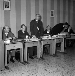 ARH BA 2532, Kreistagssitzung in der Pestalozzischule, Misburg, 1968