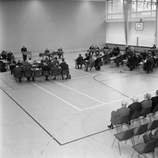 ARH BA 2571, Kreistagssitzung in der Mehrzweckhalle, Barsinghausen, 1969
