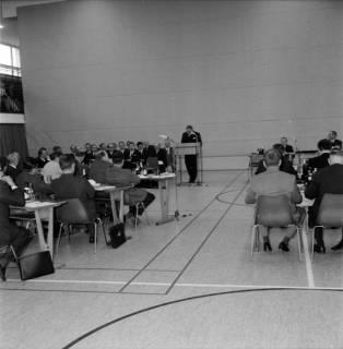ARH BA 2574, Kreistagssitzung in der Mehrzweckhalle, Barsinghausen, 1969