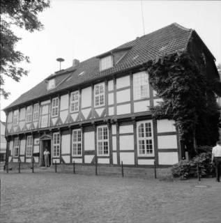 ARH BA 2596, Kreistagsrundfahrt - Besichtigung des Amtshauses, Bissendorf, 1990
