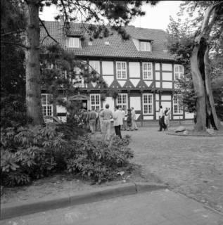 ARH BA 2603, Kreistagsrundfahrt - Besichtigung des Amtshauses, Bissendorf, 1990