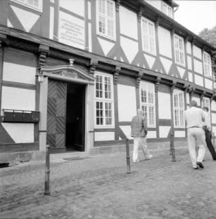 ARH BA 2605, Kreistagsrundfahrt - Besichtigung des Amtshauses, Bissendorf, 1990