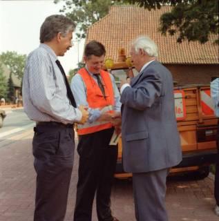 ARH BA 2607, Ortsdurchfahrt, Hagen - Einweihung mit LR Wicke und OKD Droste, 1990