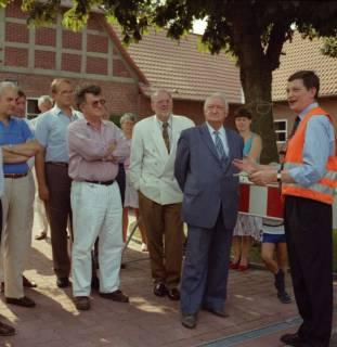 ARH BA 2615, Ortsdurchfahrt, Hagen - Einweihung mit LR Wicke und OKD Droste, 1990