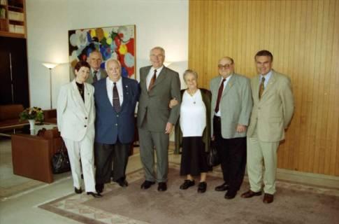 ARH BA 2782, LT-Präs. Wernstedt empfängt LR Arndt und Benny Gurfinkel, 2001