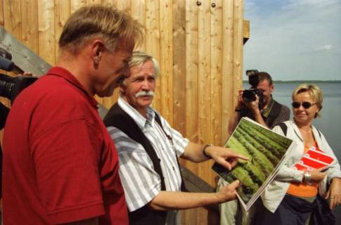 ARH BA 2790, Bundesumweltminister Trittin zu Besuch am Steinhuder Meer, 2001
