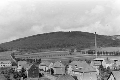 ARH NL Dierssen 0104/0020, Blick vom Feuerwehrturm, zwischen 1946/1947