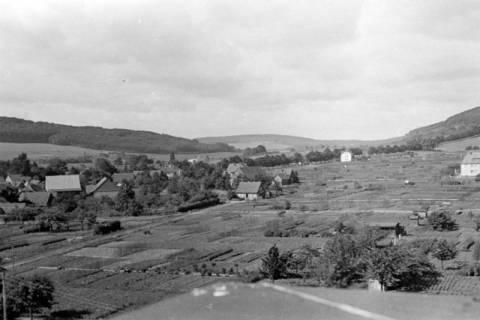 ARH NL Dierssen 0104/0021, Blick vom Feuerwehrturm, zwischen 1946/1947