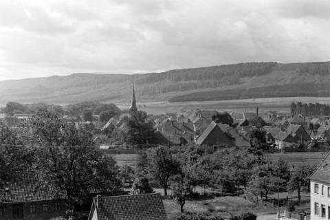 ARH NL Dierssen 0104/0022, Blick vom Feuerwehrturm, zwischen 1946/1947