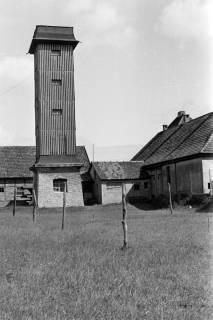 ARH NL Dierssen 0104/0026, Feuerwehrturm, zwischen 1946/1947