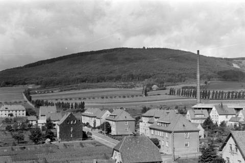 ARH NL Dierssen 0104/0027, Blick vom Feuerwehrturm, zwischen 1946/1947