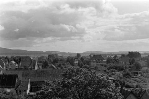 ARH NL Dierssen 0104/0028, Blick vom Feuerwehrturm, zwischen 1946/1947