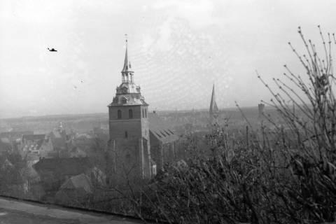 ARH NL Dierssen 0105/0024, St. Michaelis (links) und St. Johannis (rechts) in Lüneburg, zwischen 1946/1947