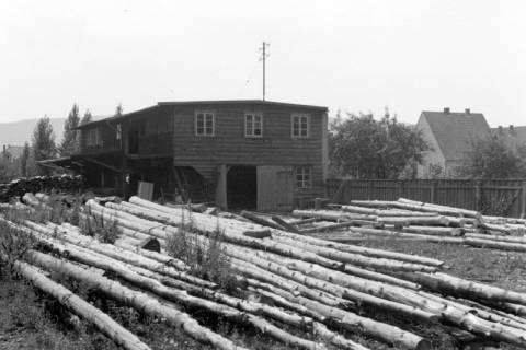 ARH NL Dierssen 0106/0021, Holzplatz Frau Jansen, zwischen 1946/1947