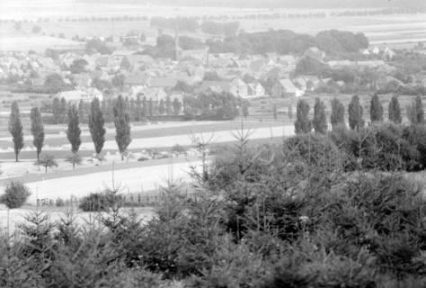 ARH NL Dierssen 0109/0010, Blick vom Ebersberg auf Springe, 1947