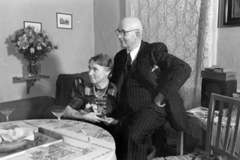 ARH NL Dierssen 0109/0021, Silberhochzeit der Eltern von Dierssen, 1947