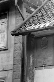"ARH NL Dierssen 0115/0005, Gedenktafel am ""Göbelhaus"", 1948"