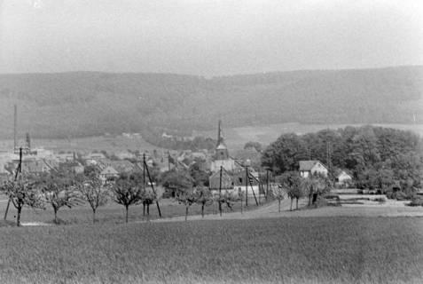 ARH NL Dierssen 0119/0002, Fernsicht auf Springe, 1948