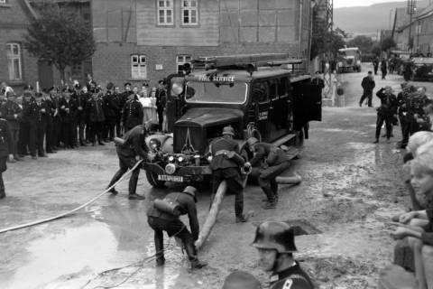 ARH NL Dierssen 0123/0006, Feuerwehr - Wettkämpfe, 1948
