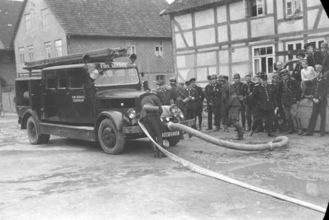 ARH NL Dierssen 0123/0015, Feuerwehr - Wettkämpfe, 1948