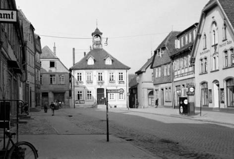 ARH NL Dierssen 0128/0016, Marktplatz, 1948