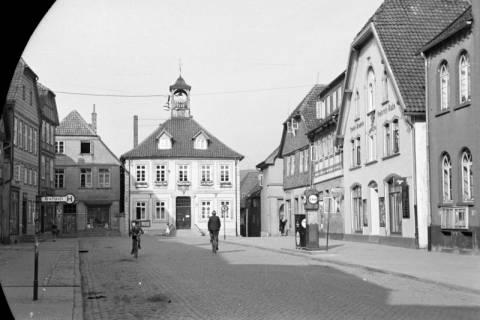 ARH NL Dierssen 0128/0017, Marktplatz, 1948
