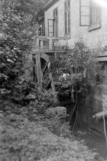 ARH NL Dierssen 0129/0005, Wasserrad an der Holzmühle, 1948