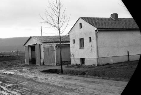 ARH NL Dierssen 0139/0012, Lagerschuppen von Felix Tief, Springe, 1949