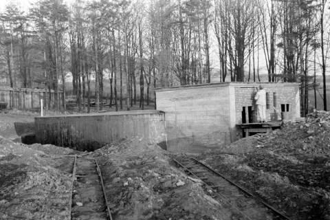 ARH NL Dierssen 0141/0008, Wasserbehälter im Bau, Bad Münder, 1949