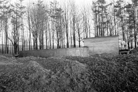 ARH NL Dierssen 0141/0009, Wasserbehälter im Bau, Bad Münder, 1949