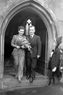 ARH NL Dierssen 0144/0006, Hochzeit, Springe, um 1949