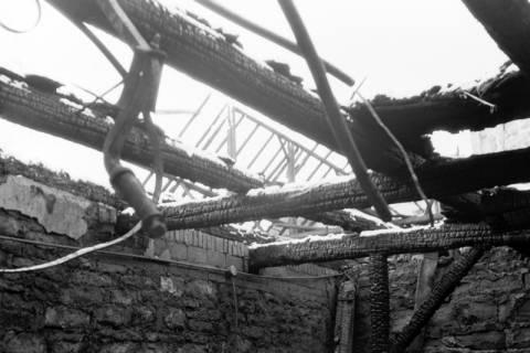 ARH NL Dierssen 0144/0010, Brandstelle, Springe, um 1949