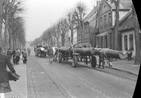 ARH NL Dierssen 0147/0007, Holztransport, 1949