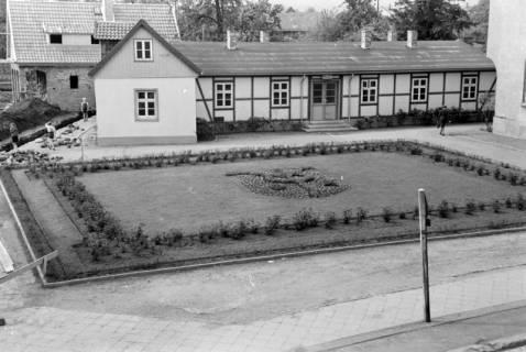 ARH NL Dierssen 0148/0018, Rathausplatz, um 1949