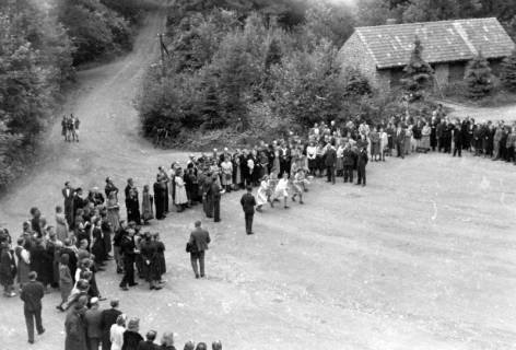 ARH NL Dierssen 0150/0001, Betriebsfest des Forstamt Saupark, Eldagsen, 1949
